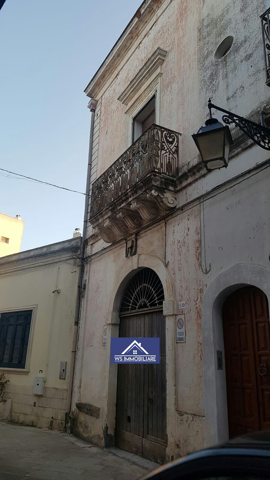 Palazzo nel centro storico di tuglie con caratteristiche volte a stella